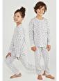 Penti Renkli Unisex Candy Cane Gıft 2Li Pijama Takımı Siyah